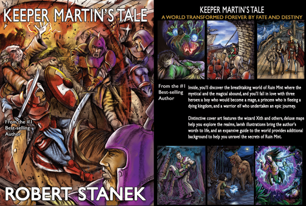Keeper Martin's Tale Illustrated Edition